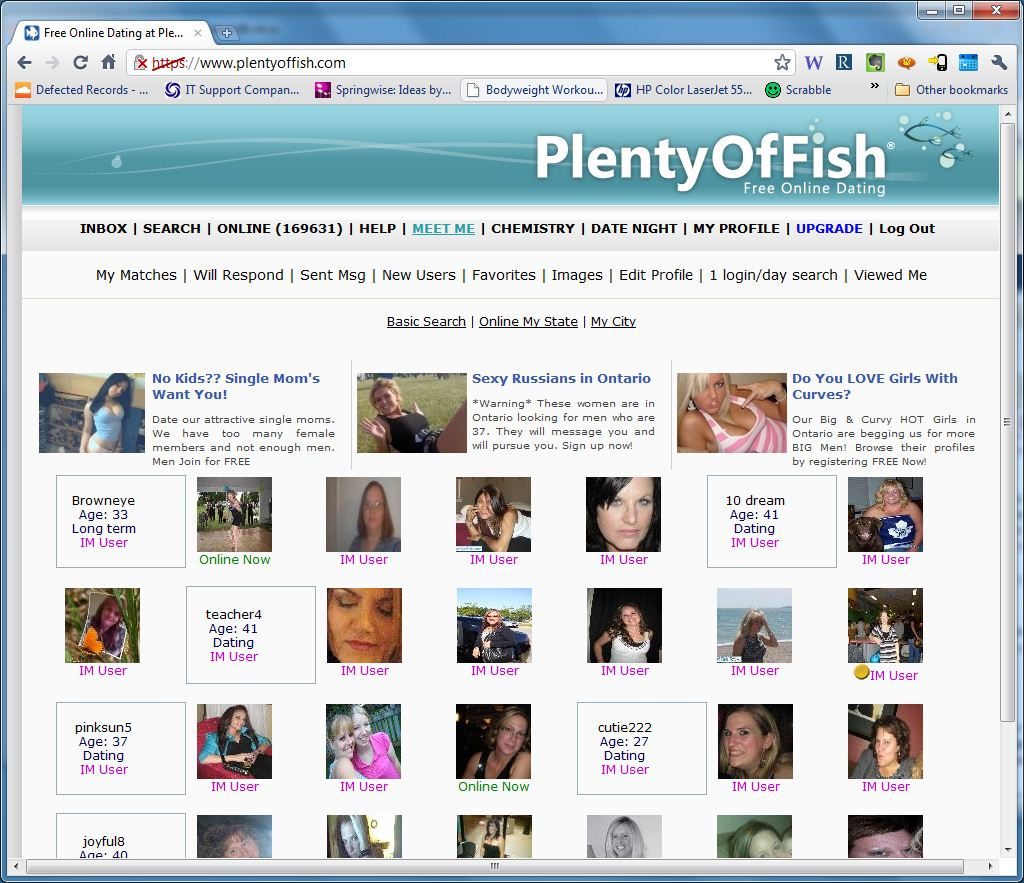 Myfreecoursesonline for Plenty of fish free search